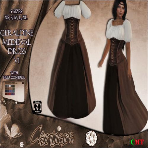 Geraldine Medieval Dress V1