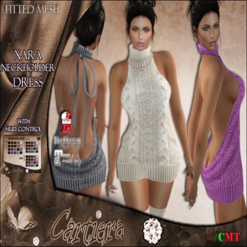 Xara Neckholder Dress