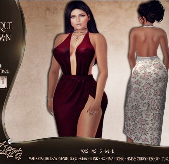 Majique Gown