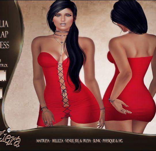 Delia Strap Dress