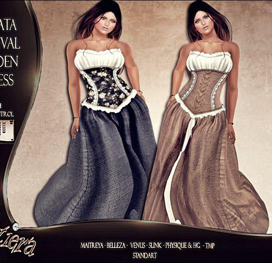 Jonata Medival Maiden Dress