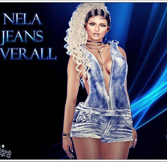 Nela Jeans Overall