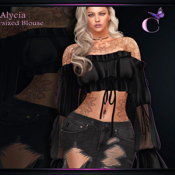 Alycia Oversized Blouse